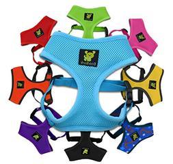 Luxurious Comfort Dog Harness; 10-17 lbs Innovative No Pull