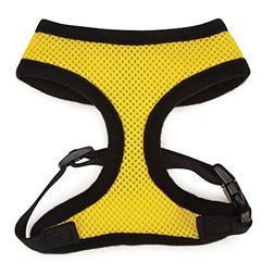 Mesh Dog Harness, Small: 12 L, Yellow
