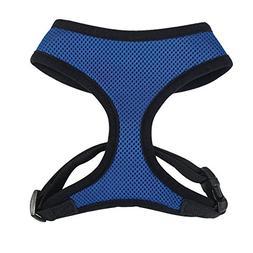 Mesh Dog Harness - Size: Medium: 16 L, Color: Blue