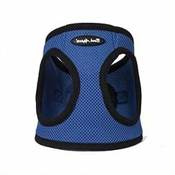 Bark Appeal Mesh Step in Harness, Medium, Blue