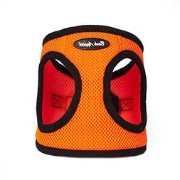 Bark Appeal Mesh Step in Harness, X-Large, Neon Orange