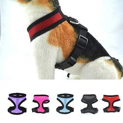 Mesh Harness Pet Control for Dog & Cat Soft Walk Collar Safe