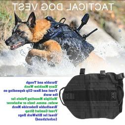 Military Dog Harness Police Army working hiking weight backp