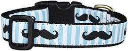 Up Country Mustache Dog Collar - Large