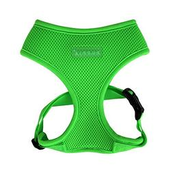 Puppia Neon Soft Harness A, X-Large, Green