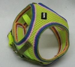 NEW COASTAL PET LIL PALS MESH STEP-IN DOG HARNESS, LIME