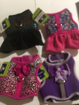 NEW! SET OF 4 Top Paw Dog Puppy Harness Harnesses XXS CuTe!