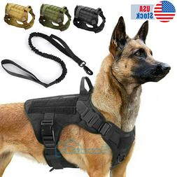 NEW Tactical Dog Vest Harness – Military K9 Dog Training V