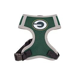 Littlearth Hip Doggie NFL Team Harness Packers Vest, Medium
