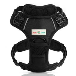 PAWS N HAUL No Pull Adjustable Dog Harness 3M Vest Reflectiv