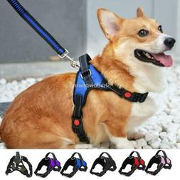 Dog Harnesses Strap No Pull Adjustable Reflective Nylon with