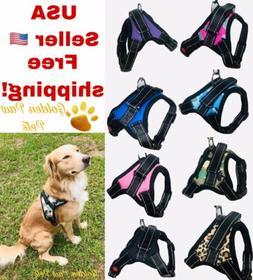 No Pull Adjustable Large Medium Dog Pet Vest Harness Quality