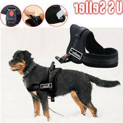 no pull adjustable padded dog pet vest