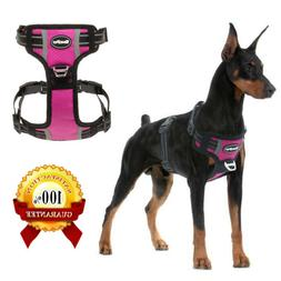 No Pull Dog Harness Adjustable Reflective Waterproof Padded