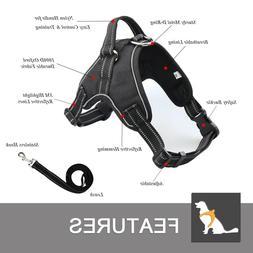 no pull dog pet premium harness adjustable
