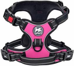 No Pull Dog Harness, Upgraded Version No Choke Dog Reflectiv