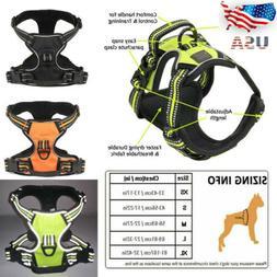 No Pull Dog Pet Premium Harness Adjustable Vest & Leash Outd