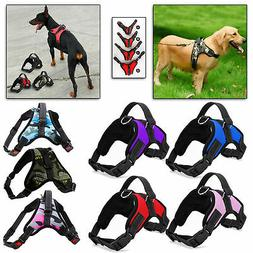 No Pull Dog Pet Vest Harness Strap Adjustable Nylon Small Me