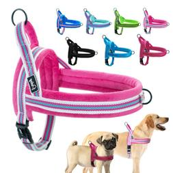 No Pull Large Dog Harness Reflective Puppy Small Front Contr