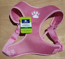 NWT TOP PAW Comfort Dog Harness - PADDED - PINK FLORAL Size