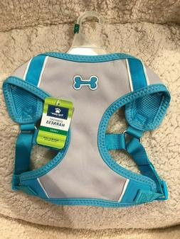 NWT - Top Paw Light Blue Dog Comfort Harness - MED & LARGE S