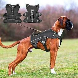 Nylon Dog Harness Reflective Large Dogs Halter Harness Quick