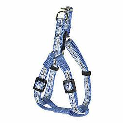 Hamilton Nylon Harness - Adjustable Easy-On, Blue, X-Small,