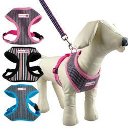 Nylon Pet Dog Harness & Leash Soft for Small Medium Large Do