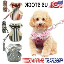 Nylon Pet Puppy Soft Mesh Dog Harness Strap Vest Collar For