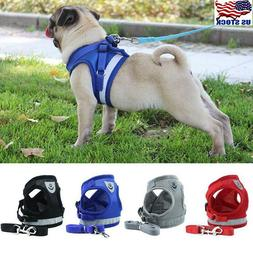 Nylon Service Dog Vest Harness Patches Reflective Small Larg