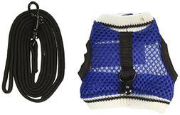 Ware Manufacturing Nylon Walk-N-Vest Pet Harness and Leash f