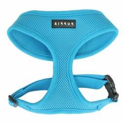 Puppia Original Soft Mesh Harness for Dogs - Blue ~ Authenti
