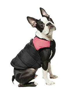 Gooby - Padded Vest, Dog Jacket Coat Sweater with Zipper Clo
