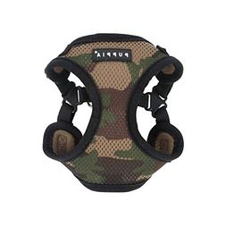 Puppia PARA-HC1533-CA-M Camo Soft Harness C Pet-Vest-Harness