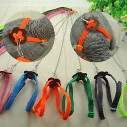 Parrot Bird Leash Outdoor Adjustable <font><b>Harness</b></f