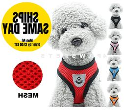 Pet Puppy Harness Breathable Mesh Safety Vest Chest Strap Fo