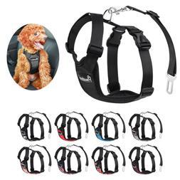PAWABOO Pet Dog Soft Safety Mesh Vest Harness Walk Collar St