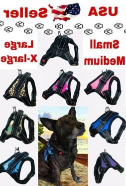 Pet Dog Puppy Cat Harness Vest Collar No Pull Adjustable Sma