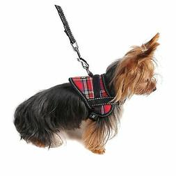 Alfie Pet - Justice Harness Vest and Leash Set - Color: Red