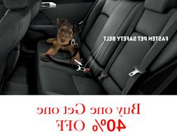 Pet SEAT BELT Dog Safety Adjustable Clip for Car Auto Travel