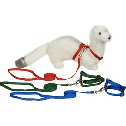 PETCO Deluxe Ferret Harness and Lead Set, Color:Assorted by