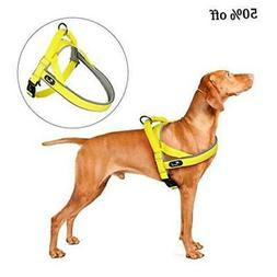 Pettom Dog Halter Harness, Reflective No Pull Step-in Harnes