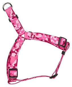 Country Brook Design® Pink Bone Camo Step-In Dog Harness