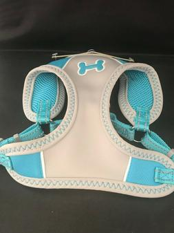 Top Paw® Powder Blue Bone Sport Comfort Dog Harness Medium
