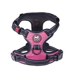 PoyPet No Pull Dog Harness, No Choke Front Lead Dog Reflecti