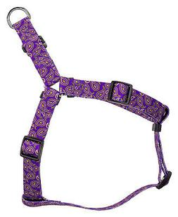 Country Brook Design® Purple Paisley Step-In Dog Harness