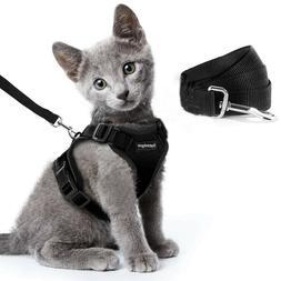 Reflective Cat Harness Rabbitgoo Walking Jacket Adjustable &