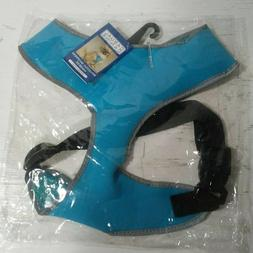 """Casual Canine Reflective Dog Harness Bluebird Chest 19"""" - 26"""