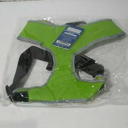 """Casual Canine Reflective Dog Harness Parrot Green Chest 19"""""""