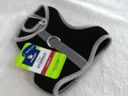 "TOP PAW REFLECTIVE VEST HARNESS SIZE X SMALL GIRTH 13-15"" BL"